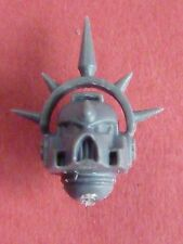 Blood Angel Marine SANGUINARY GUARD SPIKED MK7 HELMET- Bits 40K