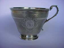 Antique French Napoleon III  Sterling Silver CUP by PHILIPPE BERTHIER
