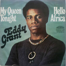 "7"" 1974 MEGA RARE VG++ ! EDDY GRANT : My Queen Tonight + Hello Africa"