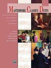 Masterwork Classics Duets, Level 2: A Graded Collection of Teacher-Student Piano