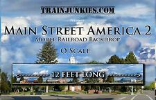 "TrainJunkies O Scale ""Main Street America 2"" 24x144"" Brand New C-10"