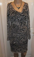 Reiss dress UK8 black and white lace dress
