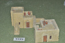 25mm middle eastern buildings 2 pieces (4532) painted