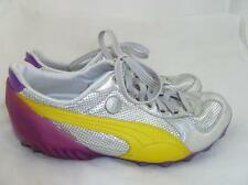 PUMA MY-16 MIHARA YASUHIRO USED MEN 7/EU 39 SILVER/PURPLE LEATHER SNEAKERS