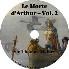 Le Morte d'Arthur, Vol 2 Sir Thomas Malory Audiobook unabridged Fiction 1 MP3 CD