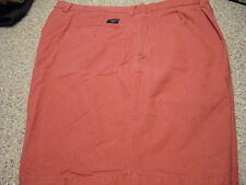 Mens Shorts DOCKERS Size 42 CORAL CLASSIC CHINOS EXC