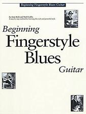 Beginning Fingerstyle Blues Guitar (Book and Audio CD) (Guitar Books) by Arnie