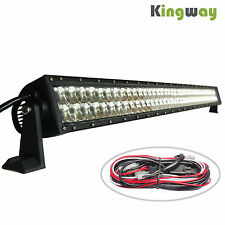 42INCH 240W 3W*80 3D LENS CREE LED LIGHT BAR MINING DRIVING WORKING TRUCK LAMP