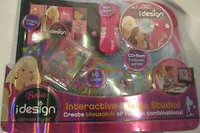 NEW Barbie idesign Ultimate Stylist Interactive Design Studio, CD Games 60 Cards