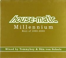 2x CD - Tommyboy - House*Matic Millennium. Best Of 1990-2000 - #A3654 - RAR