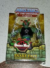 Masters of the Universe Classics Snake Face Figure 1st Issue