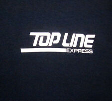 TOP LINE EXPRESS logo Contract Trucking 2XL T shirt XXL Lima OHIO security