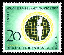 EBS West Berlin 1957 World Veterans' Federation Michel 177 MNH**
