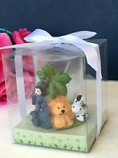 12-Baby Shower Animals Safari Candles Party Favors Jungle Table Decorations Noah