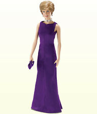 Franklin Mint Princess Diana Purple Versace Gown Ensemble for Vinyl Doll