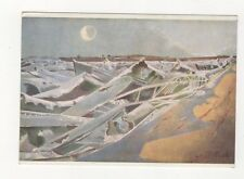 Paul Nash Totes Meer Dead Sea Plain Back Art Card 570a