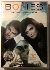 BONES: The Complete Sixth Season - MINT NEW SEALED DVDS!!