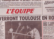 journal  l'equipe 27/09/86 CYCLISME MOSER RECORD DE L'HEURE MOTTET VOLLEY FRANCE