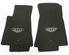 NEW! FLOOR MATS 2005-2006 PONTIAC GTO CREST Embroidered Logo LOOK
