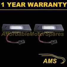 2X FOR BMW 6 SERIES E63 E64 2004-2011 24 WHITE LED NUMBER PLATE LIGHT LAMPS