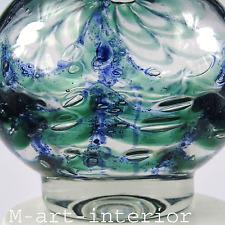 seltene WMF Ikora Glas Vase H. 17,6 cm 2,2kg Glass Centerpiece Art Déco um 1930