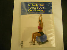 STABILITY BALL # TOTAL BODY CONDITIONING DVD NEW