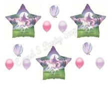 FANTASY UNICORN Happy Birthday Party Balloons Decoration Supplies Girl Teen