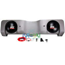 "MTX NTTNK04C20A-TN POWERED ENCLOSED DUAL 10"" SUB FOR NISSAN TITAN CREW CAB 04-15"