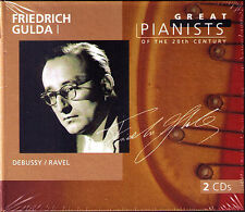 Friedrich GULDA 1: GREAT PIANISTS OF THE 20TH CENTURY 2CD Debussy Preludes Ravel