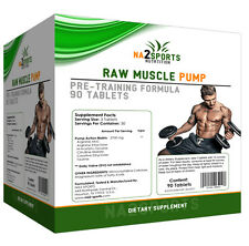 Raw Muscle Pump NITRIX OXID NO Booster aus USA Vorsicht starker Pump!!