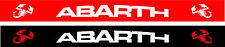 Sun Visor Strip Car Windscreen Vinyl Decal Motorsport Arbarth Red or Black