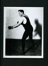 Boxer Jess Willard boxing pose 1950's Press Photo of circa 1920 image