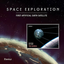 Gambia- Rossica 2014 Space Exploration Stamp Souvenir Sheet