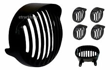 Combo Of Heavy Metal Shade Head Light + Indicator Grill Bajaj Avenger Street 220
