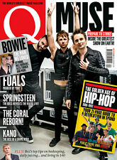 Q Magazine April 2016 MUSE David Bowie FOALS The Coral Run-DMC KANO Beastie Boys