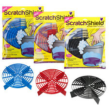 3 x Scratch Shield Grit Guard Adjustable Wash Bucket Water Filter BLACK BLUE RED