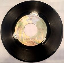 DOOBIE BROTHERS - BLACK WATER / SONG TO SEE YOU THROUGH  45 RPM  1974 NM!