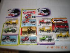 Lot of Die Cast Trucks, NIP
