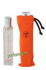 Eau Des Merveilles 0.50 Oz/ 15 ml Eau de Toilette  Spray By Hermes New In Pouch