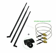 9dBi Antenna Mod Kit uf.l cable for Linksys EA3500 Dual Band