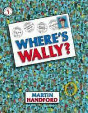 NEW Where's Wally ? by Martin Handford Walker Book Paperback 1 One ACTIVITY Kids