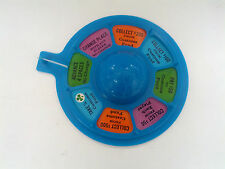 Vintage as the world turns soap opera board game piece  blue turn spinner