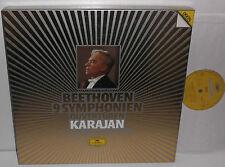 415 066-1 Beethoven 9 Symphonies Berliner Philharmoniker Herbert Von Karajan 7LP