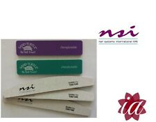 3 x NSI Dura Files & 2 x Turtle Files for Gel / Acrylic Nails (Fast Delivery)