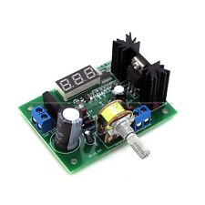DC Buck Step Down Converter Module LM317 Voltage Regulator LED Voltmeter 12V 24V
