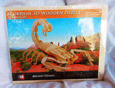 Scorpion - 3D Wooden Model Construction Kit - BNIB
