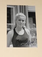 French Actress CATHERINE DENEUVE Signed 4x6 SEXY Photo AUTOGRAPH 1B