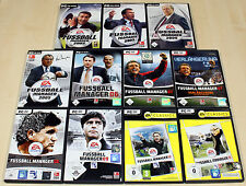 Pc jeux collection EA FIFA FOOTBALL MANAGER 2002 2003 - 10 11 complet - (13 14)