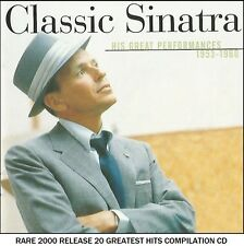 Frank Sinatra - The Very Best 20 Greatest Hits Collection CD Rat Pack 50's Swing