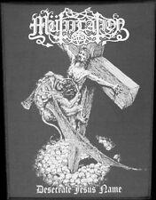 Mütiilation - Desecrate Jesus Name (Fra), Backpatch
